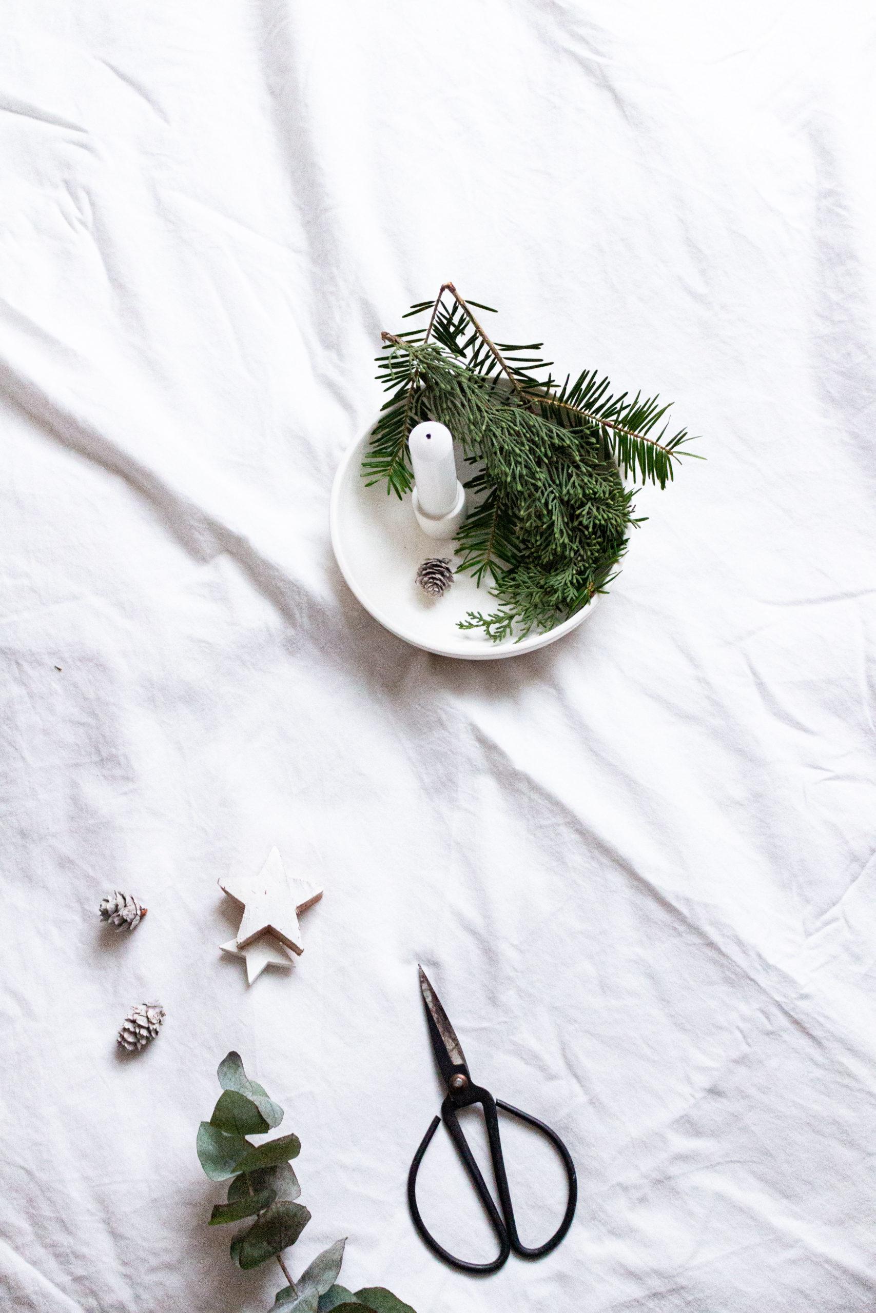 Interior | Diesjährige Weihnachtsdeko mit Leinwandbildern von Posterlounge | www.scandiinspiration.com
